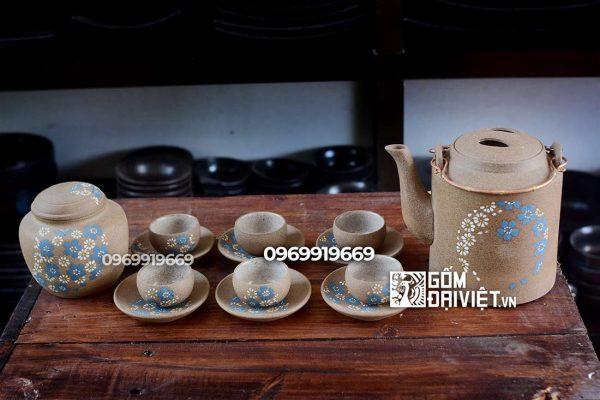 Gốm Đại Việt bán bộ ấm chén uống trà cao cấp