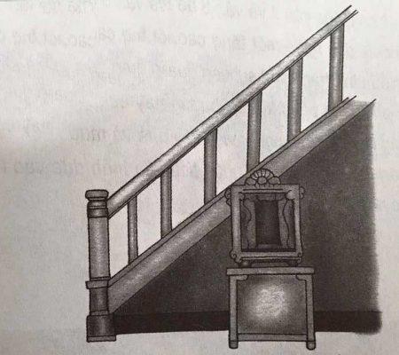 tuyệt đối không xây dựng cầu thang ở giữa nhà