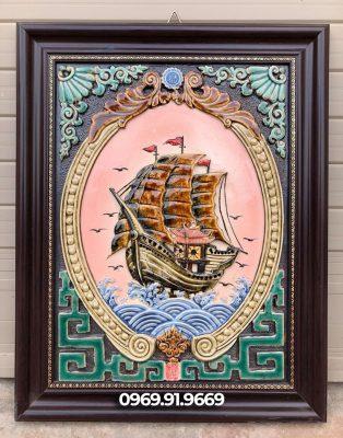Tranh thuận buồm xuôi gió cho người mệnh thổ