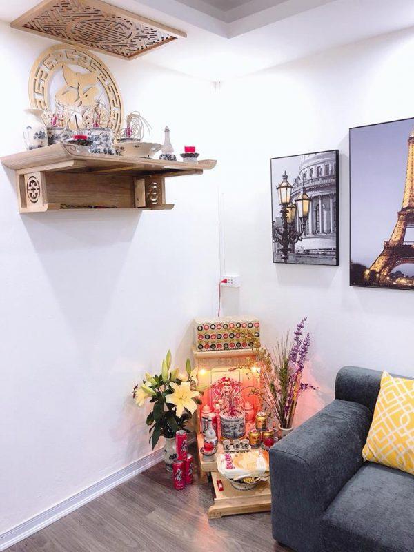 Vị trí chọn đặt bàn thờ Thần tài trong gia đình theo tuổi của gia chủ