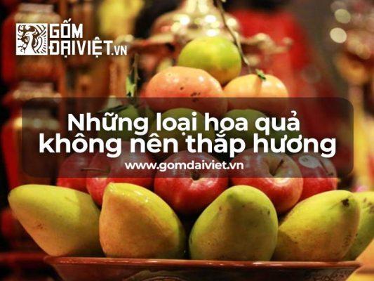Những loại quả không nên thắp hương ngày rằm, mùng 1 tối kỵ nhất