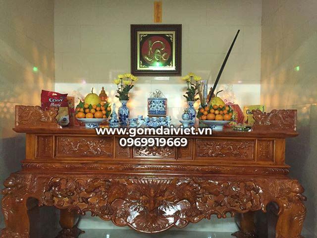 Các lễ vật cần chuẩn bị trong nghi lễ cúng chuyển bàn thờ Thổ Công