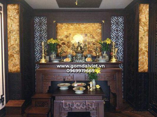 Các trường hợp được chuyển bàn thờ Thổ Công