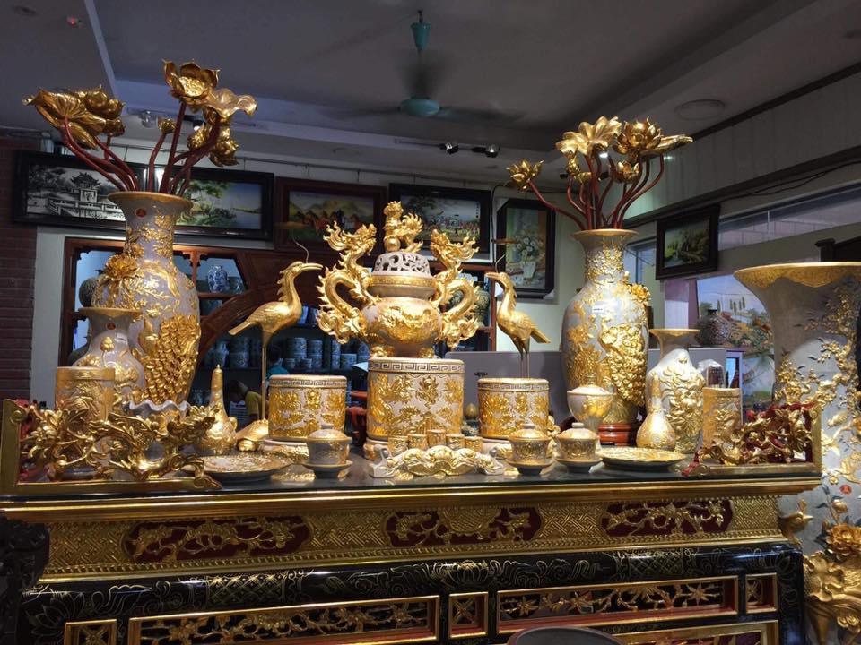 Địa chỉ mua gốm sứ Bát Tràng tại Thái Bình ở đâu Giá rẻ Chất lượng cao