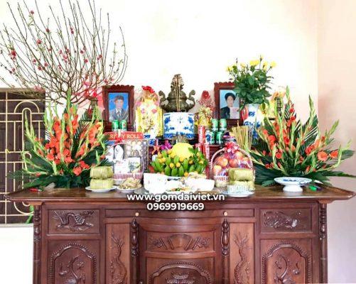 Những lễ vật và món ăn trên mâm cỗ cúng mùng 1 Tết