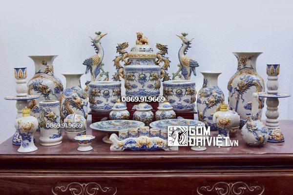 Địa chỉ sản xuất và cung cấp đồ thờ cúng gốm sứ