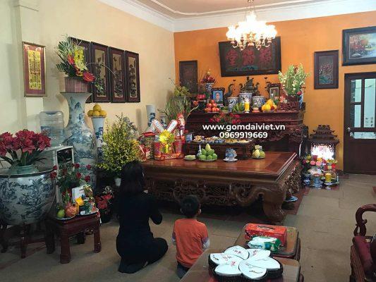 chuyển bàn thờ sang vị trí khác trong nhà vào ngày nào trong tháng