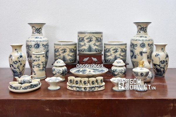 Địa chỉ cung cấp mua đồ thờ cúng gốm sứ Bát Tràng