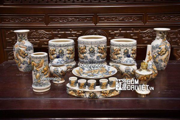 Mẫu đồ thờ gốm sứ tại Hưng yên