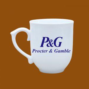 Ly sứ quà tặng Bát Tràng in logo P&G