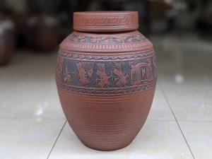 Chum sành ngâm rượu Trống Đồng Đông Sơn 30 lít
